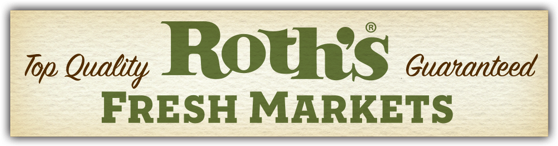 A theme logo of Roth's Fresh Markets
